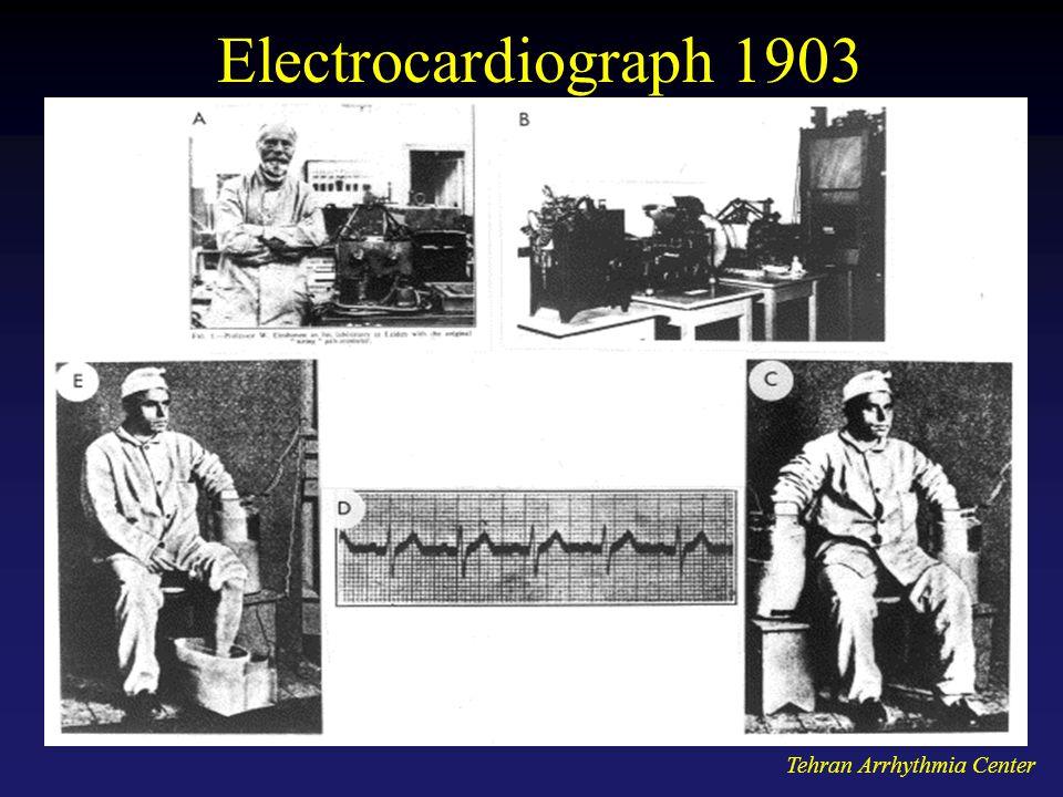Tehran Arrhythmia Center Electrocardiograph 1903