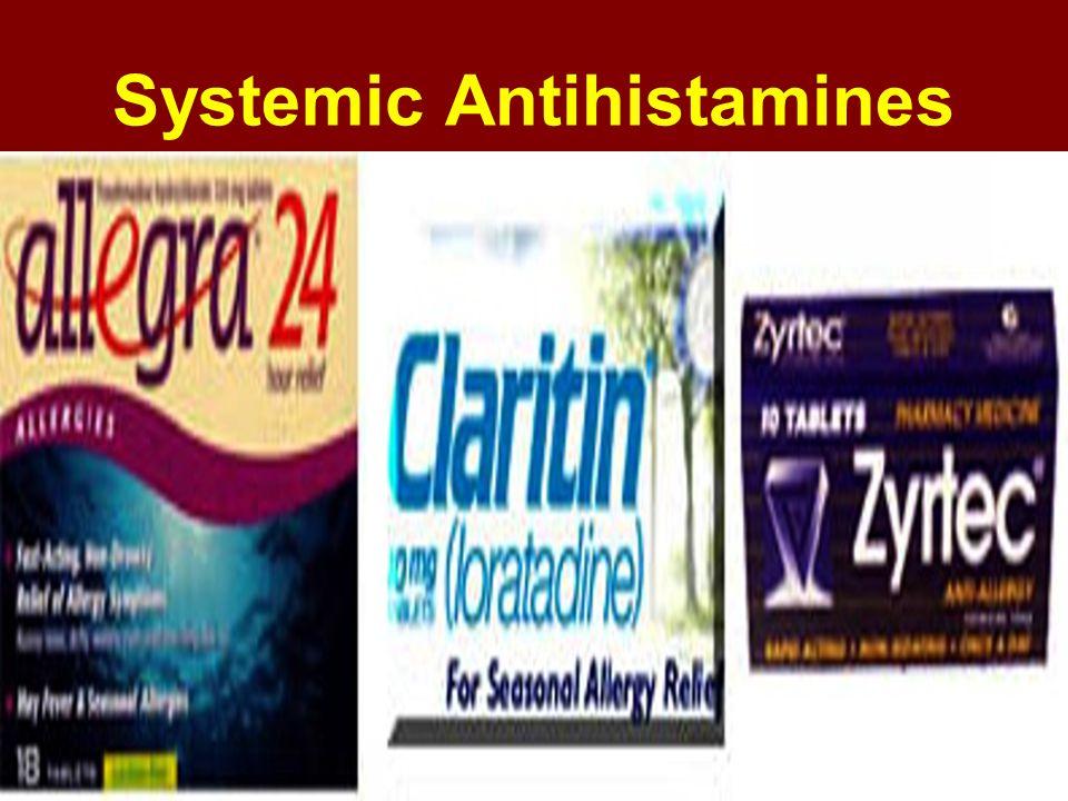 Systemic Antihistamines