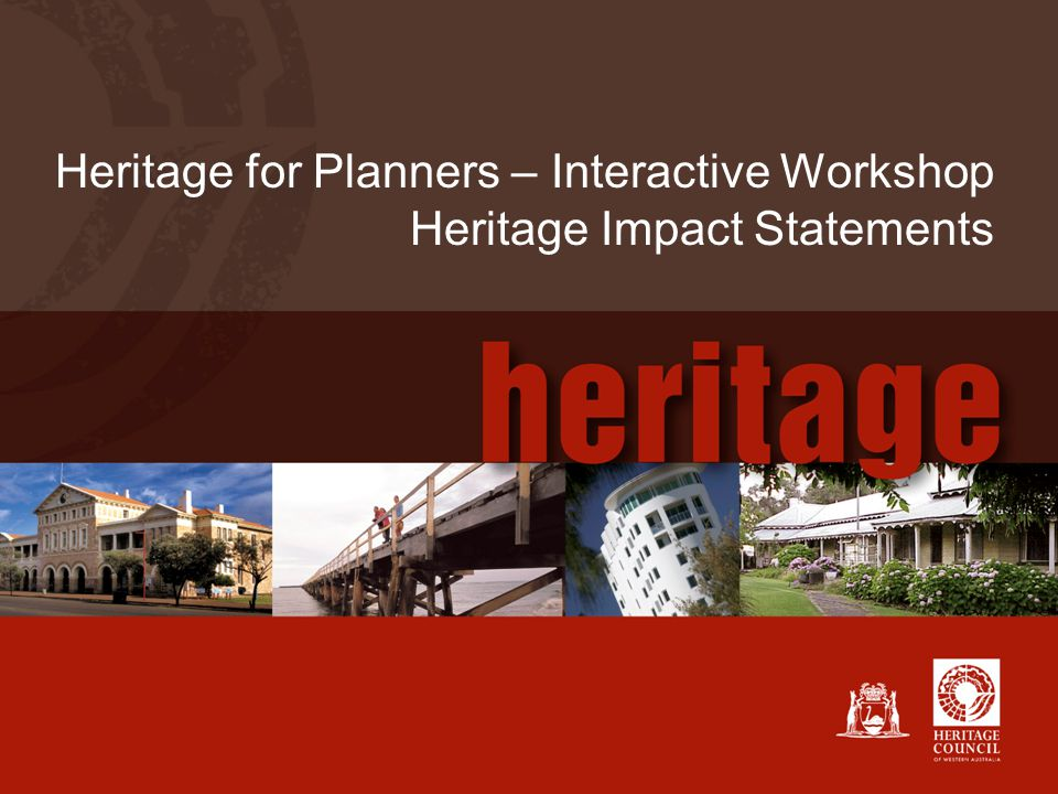 11 Heritage Impact Statement