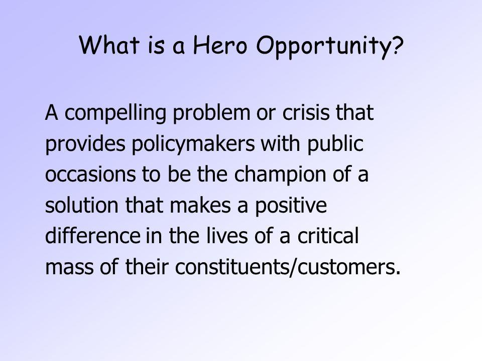 Potential Heroes Senator Jack Hart S.