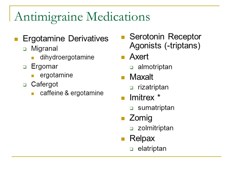 Antiemetic and Antivertigo Meds 5 HT receptor antagonists  Zofran ondansetron Many forms of the medication Given frequently for nausea in patients undergoing chemotherapy for cancer