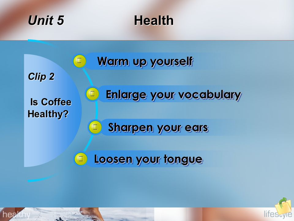 Health Unit 5 Clip 2 Is Coffee Is CoffeeHealthy.