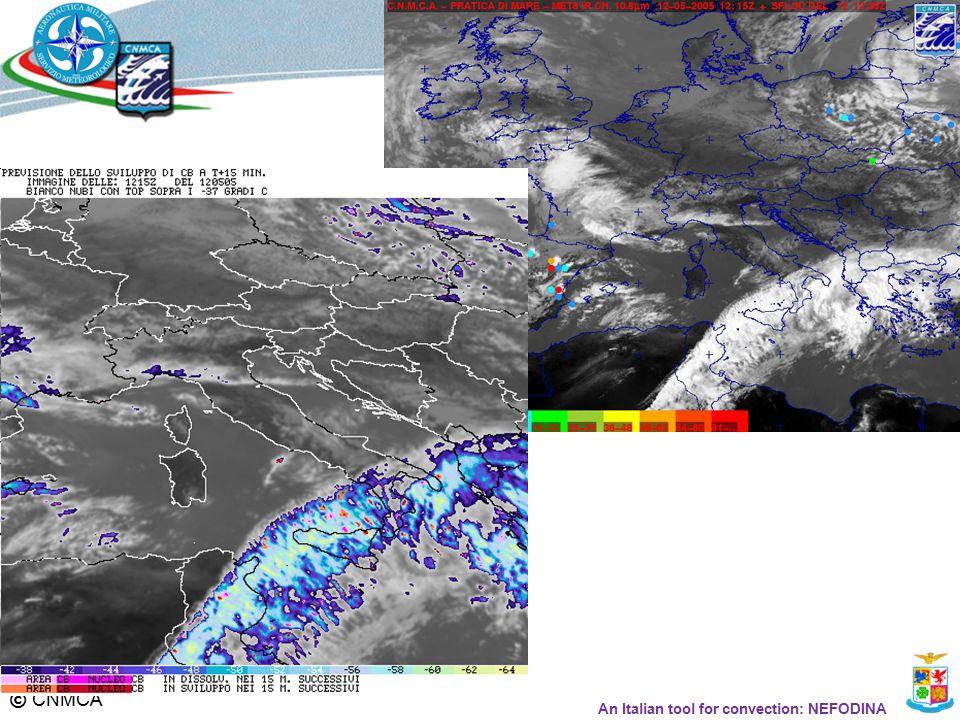 © CNMCA An Italian tool for convection: NEFODINA