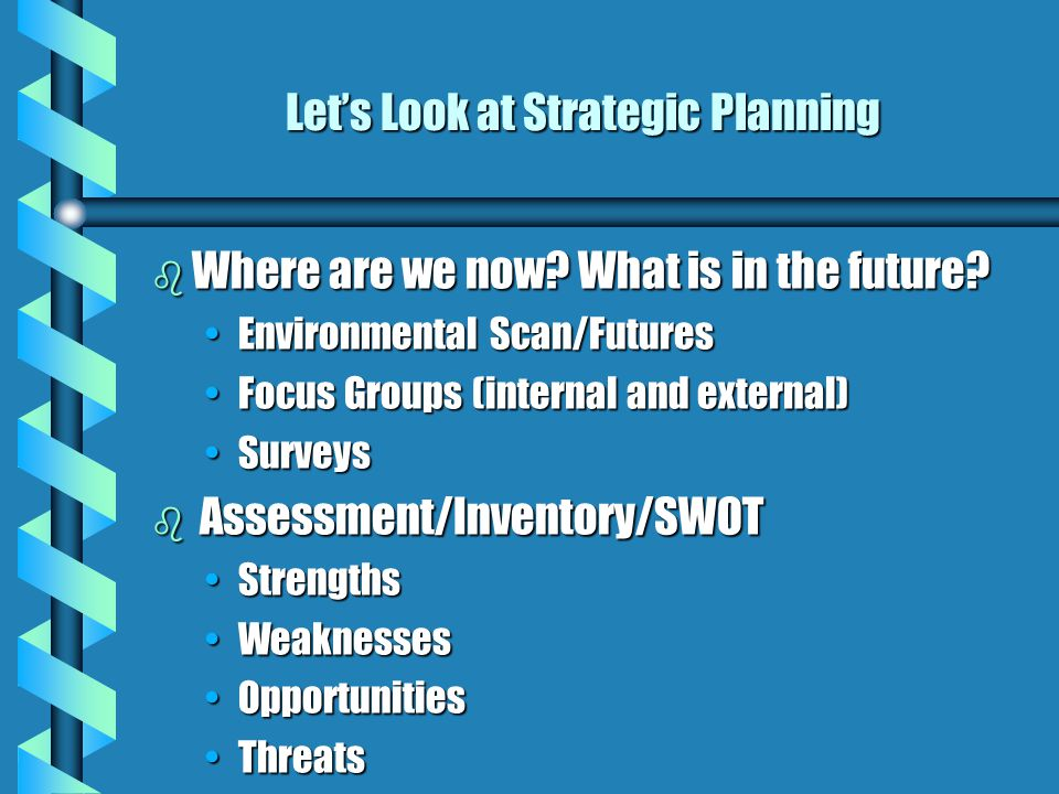 So. What can be done to develop more of these qualities? b Personal Leadership Personal Strategic Planning combines strategic planning and time manage