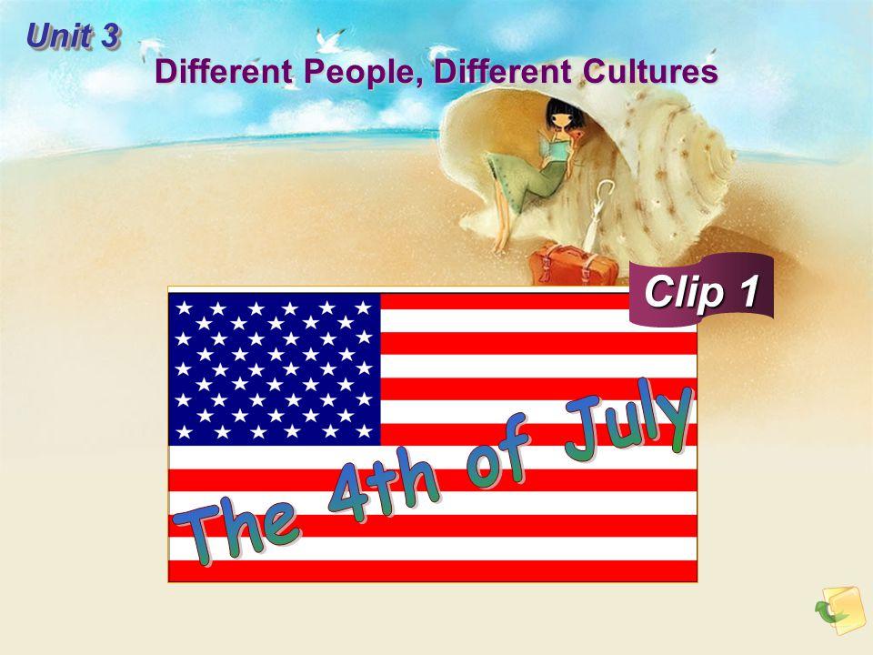 Script:Script: The 4th of July is America's birthday bash.