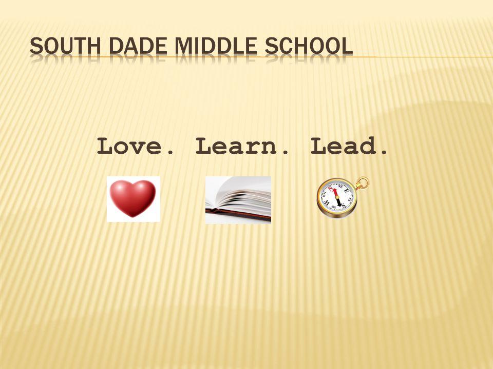 Love. Learn. Lead.
