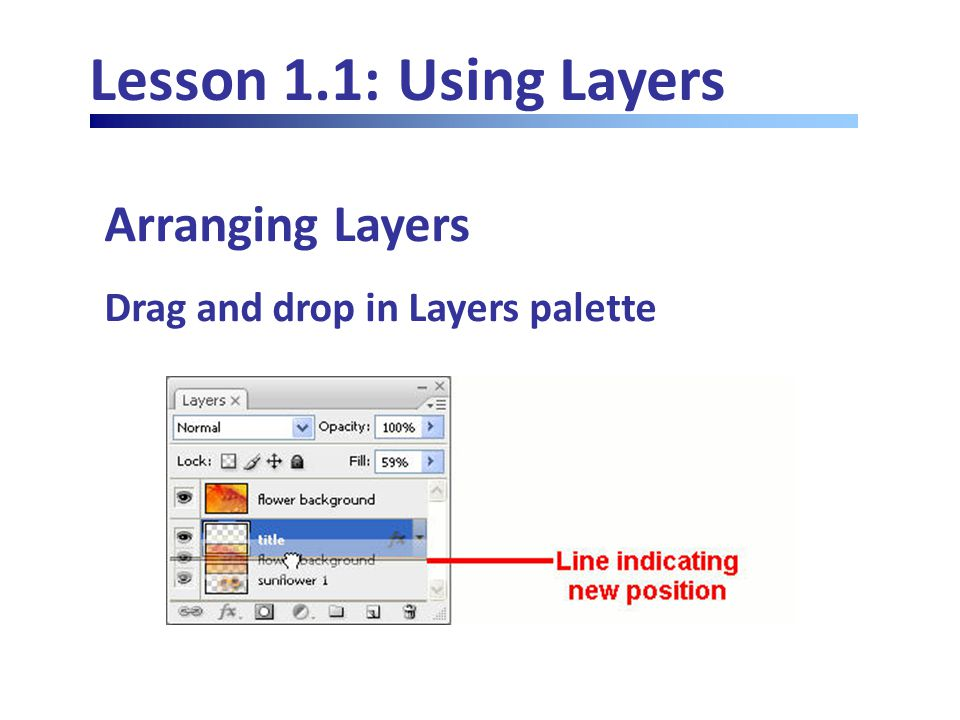 Lesson 4.4: Using Effects Filters Using the Noise Filters Refers to random fluctuations of colors of pixels in an image