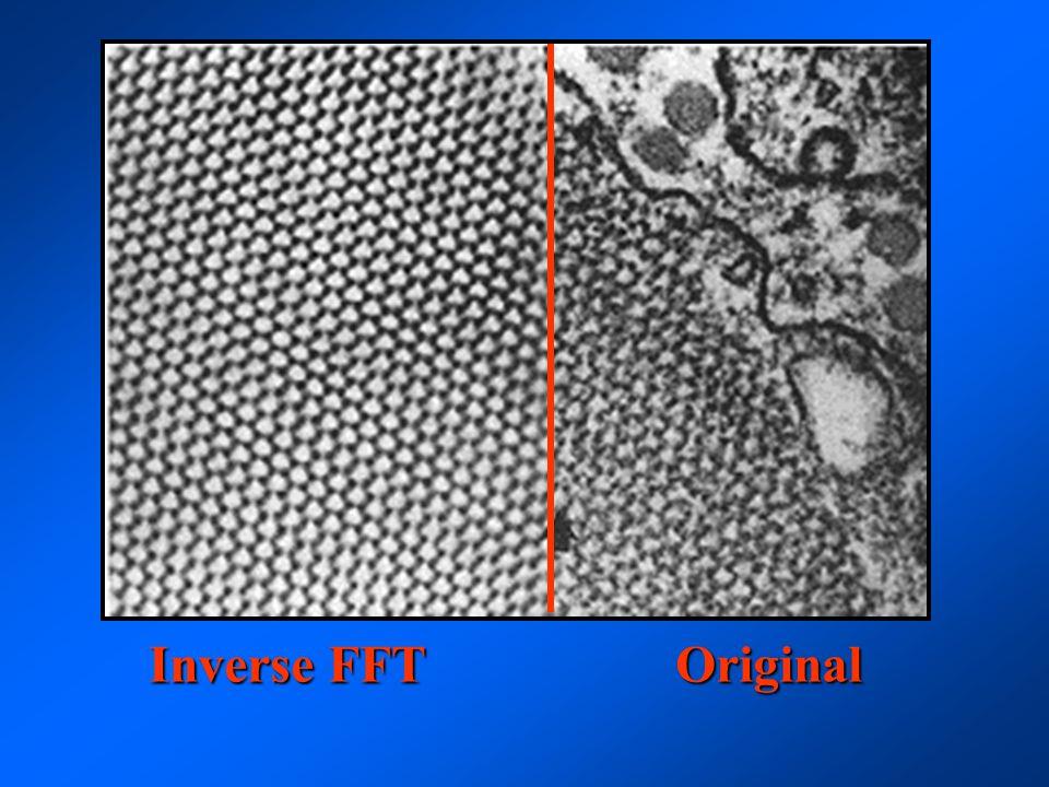 Inverse FFT Original Inverse FFT Original
