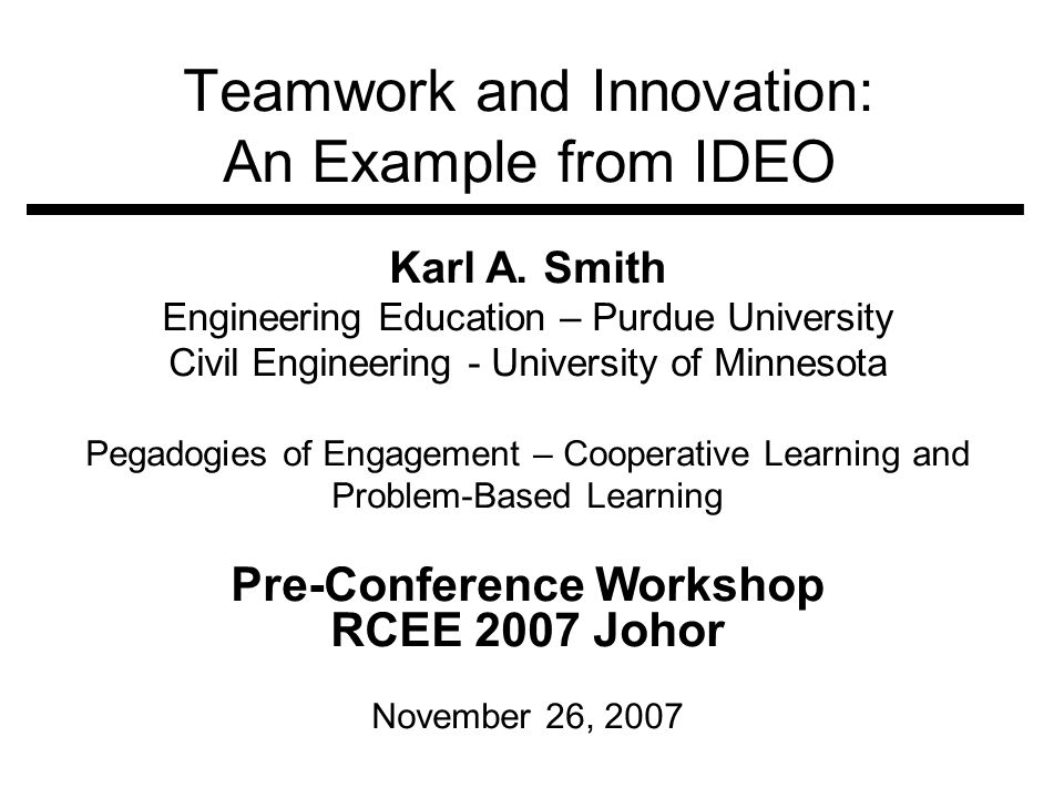 Innovation Resources Additional Perspectives on Innovation: DEC - Schein, Edgar H., et.al.