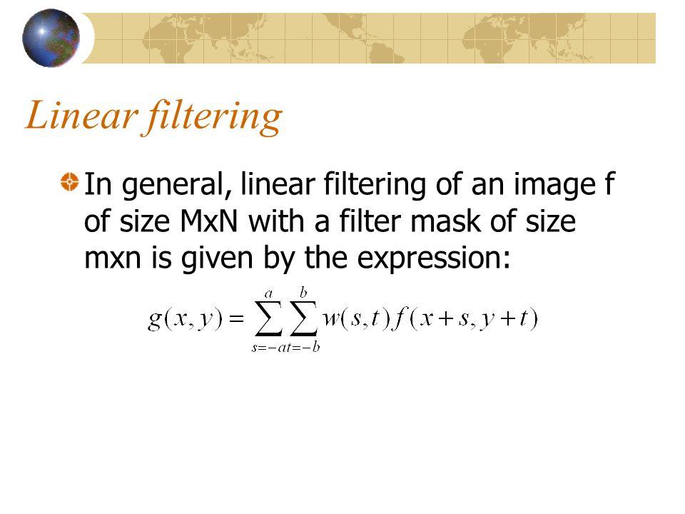 Filtered = Conv(image,mask)