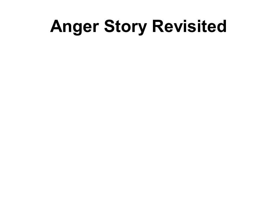 Anger Story Revisited