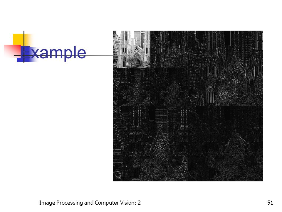 Image Processing and Computer Vision: 251 Example