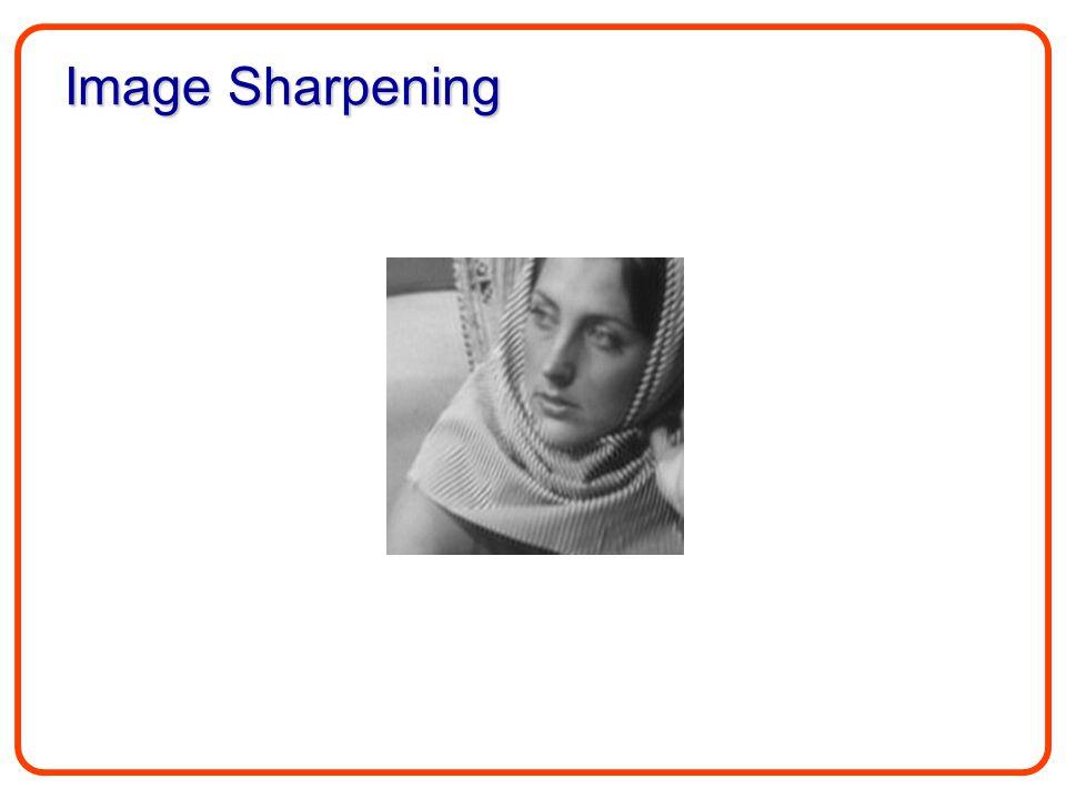 Image Sharpening