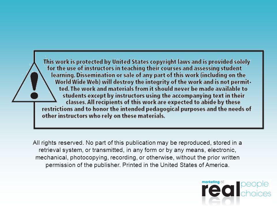 Copyright 2009 Pearson Education, Inc. Publishing as Prentice Hall7-30 Copyright © 2009 Pearson Education, Inc. Copyright © 2009 Pearson Education, In