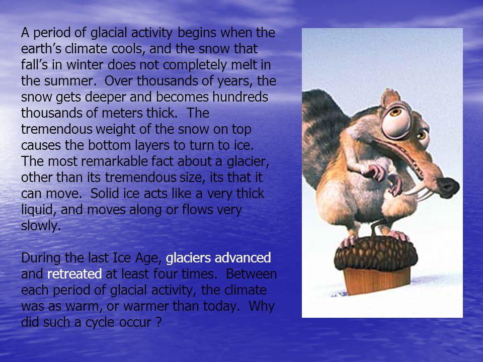 Retreat of the Last Ice Age