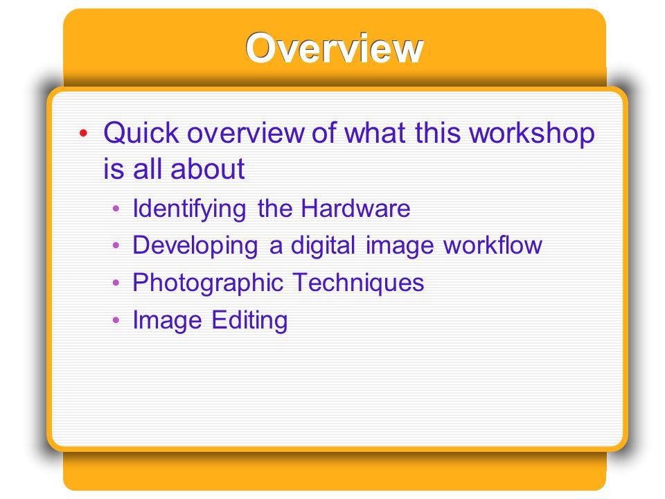 Hardware Terminology Digital Camera (Digicam) Megapixels File Format Batteries Lens Scanners Flat Bed Film