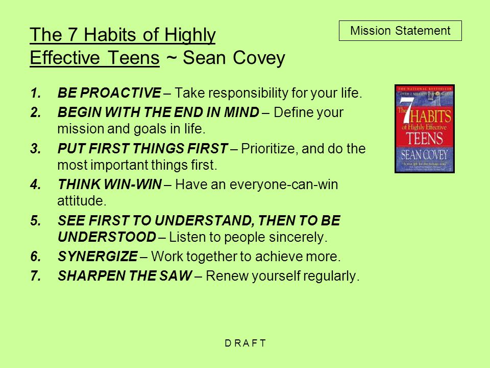 achieving my expectations with the help of sean coveys 7 habits of highly effective teens I really can't explain the sudden resurgence of my 'angling combined with highly accurate and one which will surpass the expectations of even.