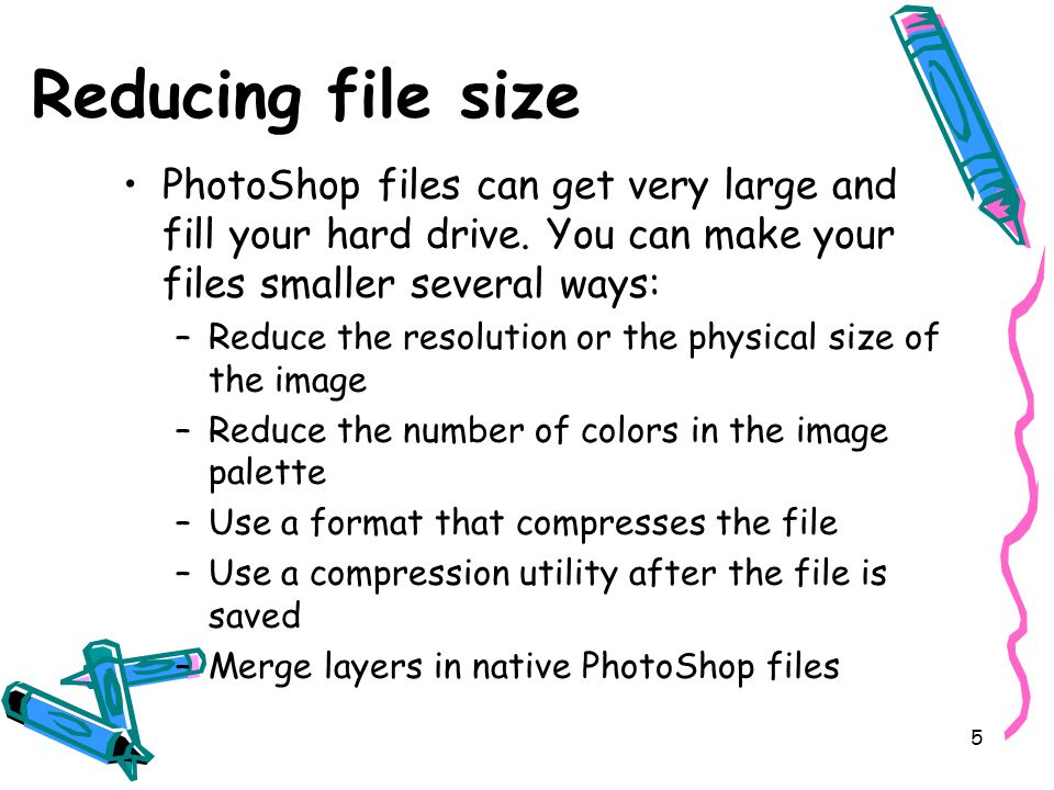 6 Choosing a file format You can save your file in many different formats.