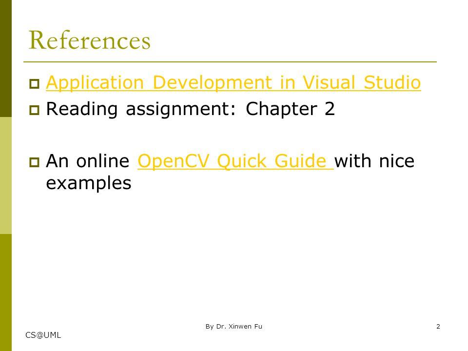 CS@UML A few things  Blackboard submission  Report format  Sreenshots By Dr. Xinwen Fu3