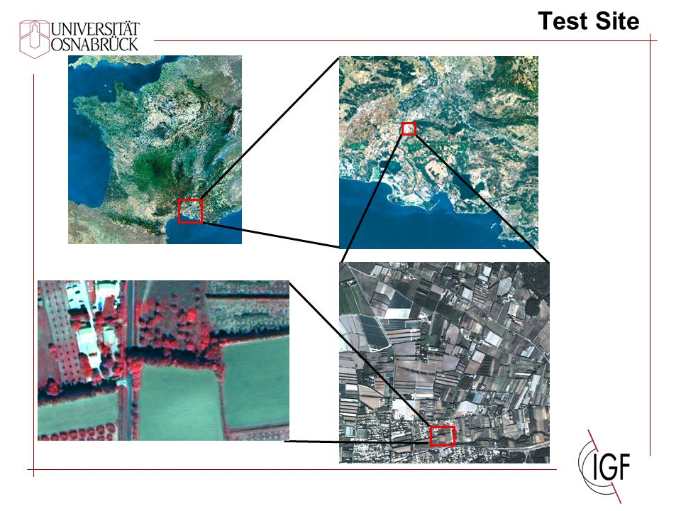 Spatial Comparison Methods (1) Edge Detection - - - Band 191.16 % Band 292.10 % Band 392.64 % Mean91.96 %