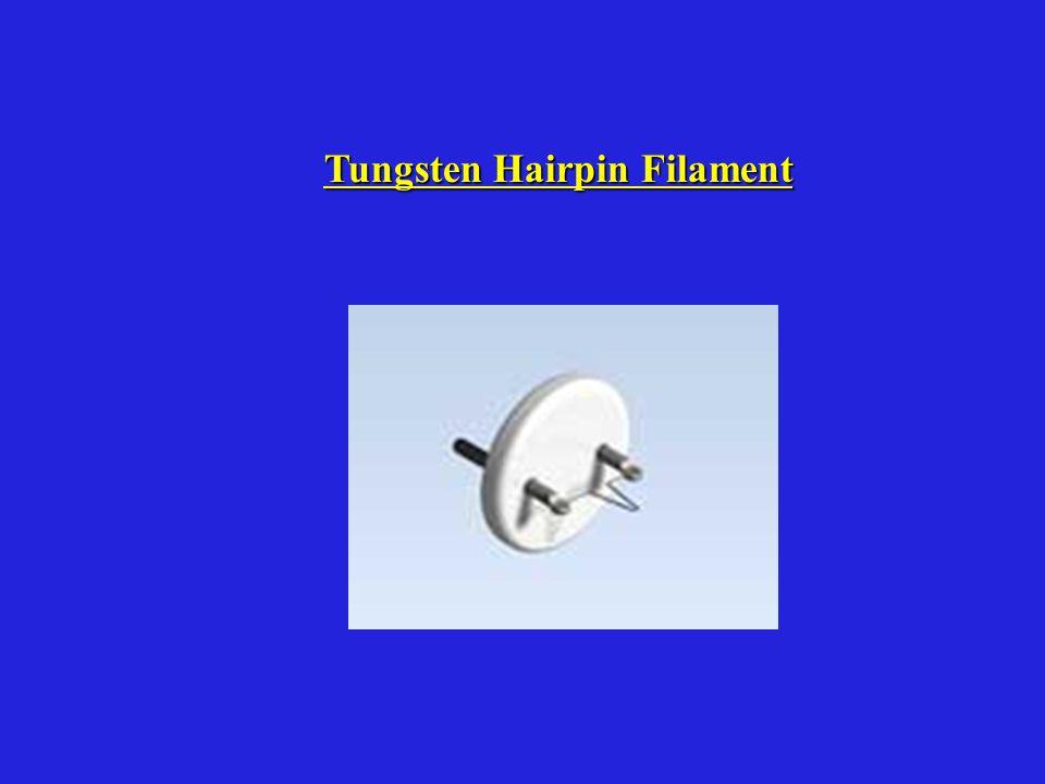 Tungsten Hairpin Filament