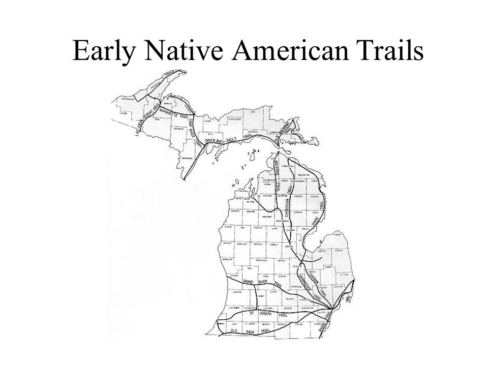 Early Native American Trails