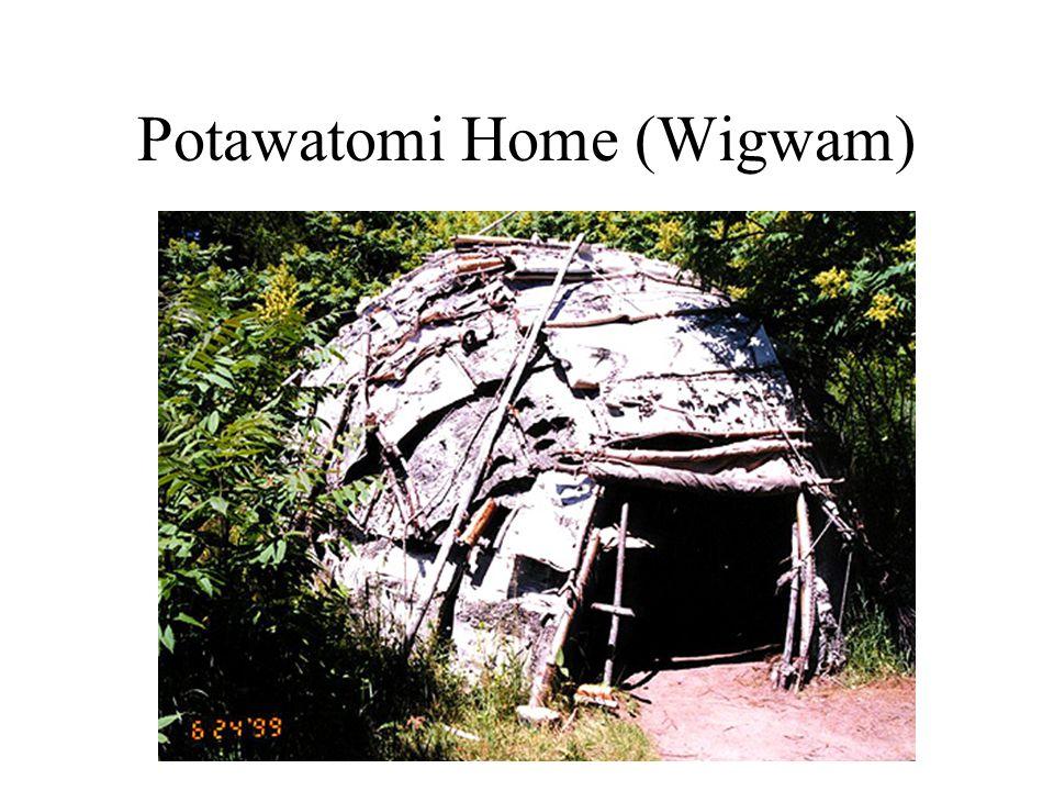 Potawatomi Home (Wigwam)