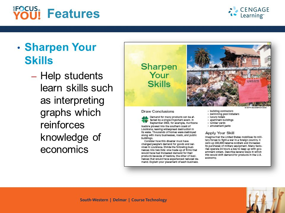 Online Technology Tools NETBookmark – Encourages students to use the Internet for research e-con@pps – Offers a library of news summaries, policy debates, data, and links to economics Web sites
