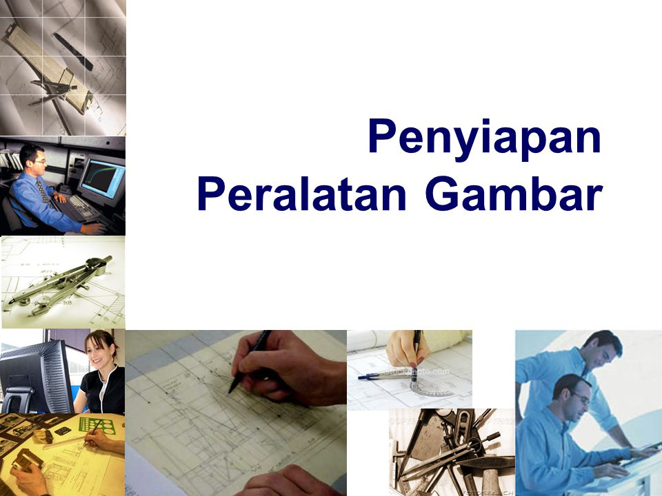 Menempatkan Kertas Di Meja Gambar 1.Place the paper close to the table's left edge.