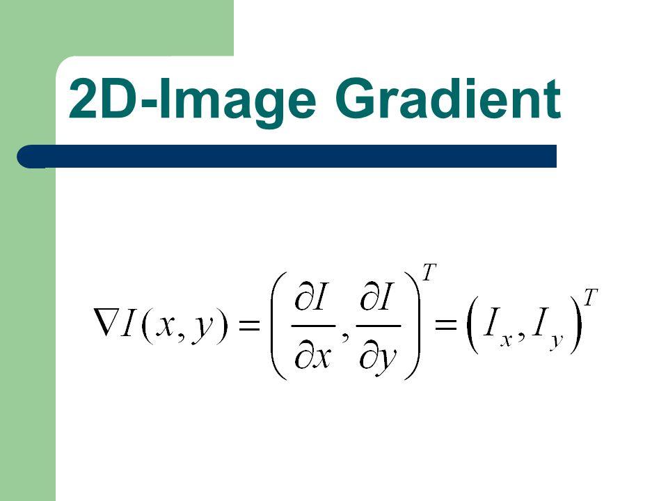 2D-Image Gradient