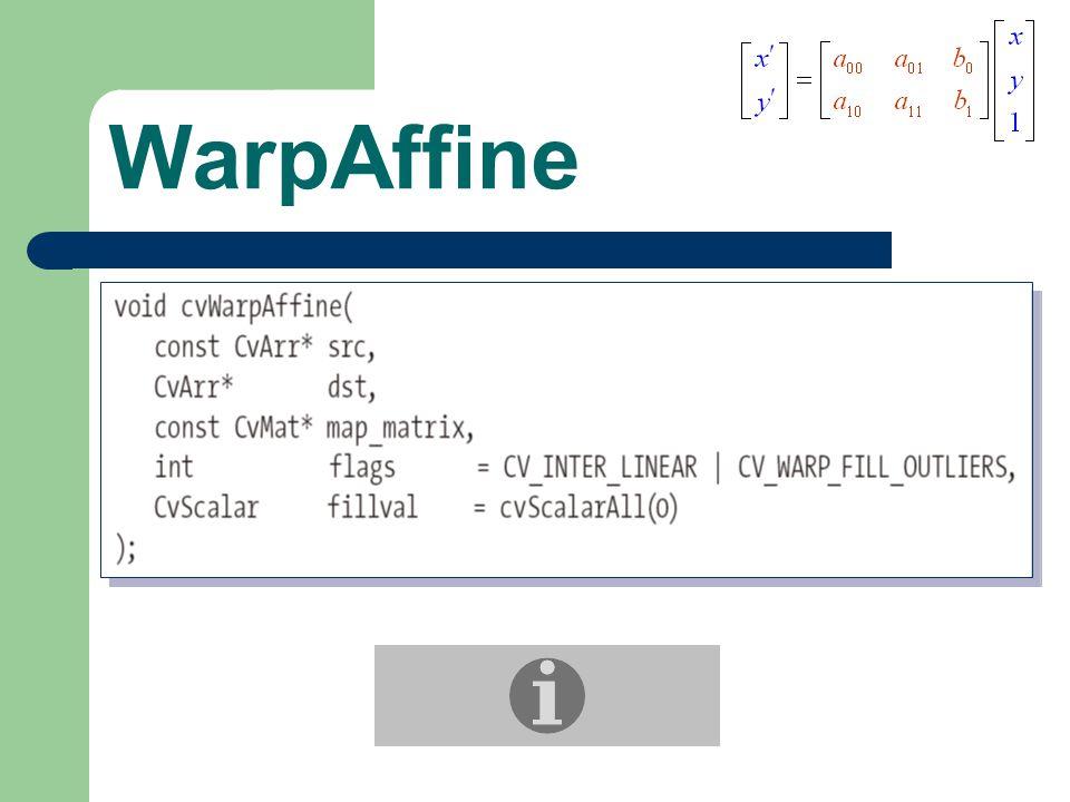 WarpAffine