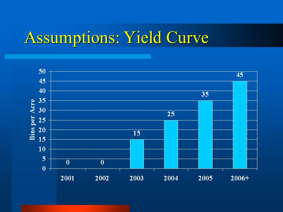 Assumptions: Yield Curve