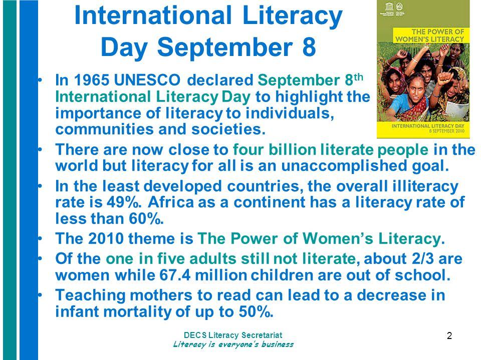 DECS Literacy Secretariat Literacy is everyone's business 13 Sustaining Improvement SILA's Sustainability Toolkit