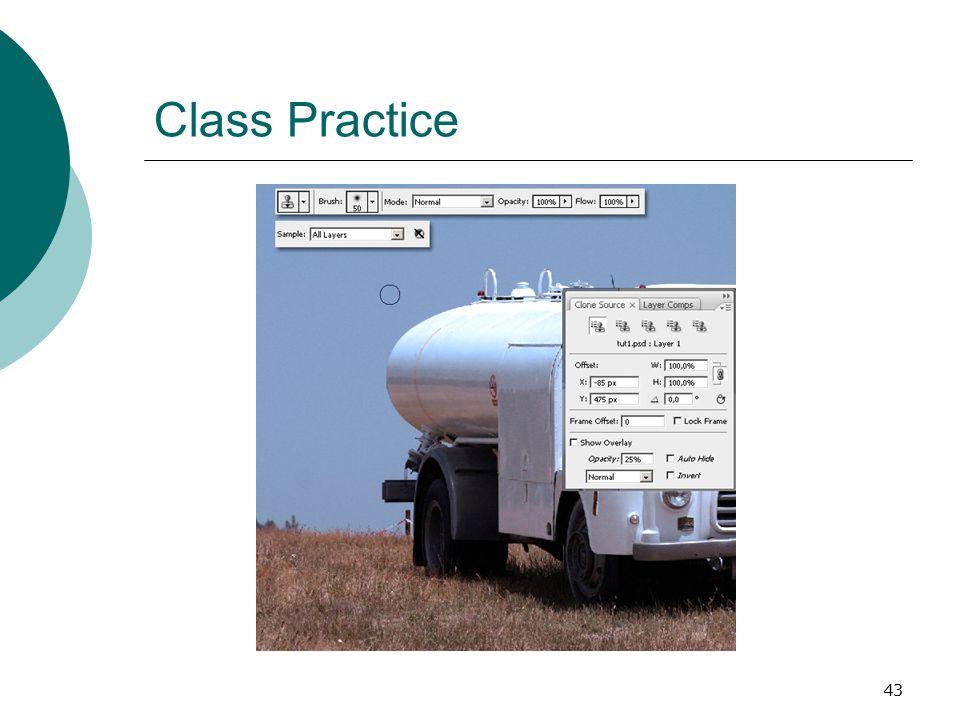 43 Class Practice