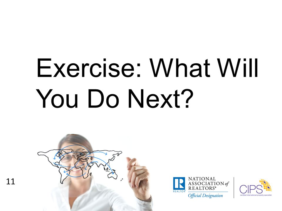 Exercise: What Will You Do Next 11
