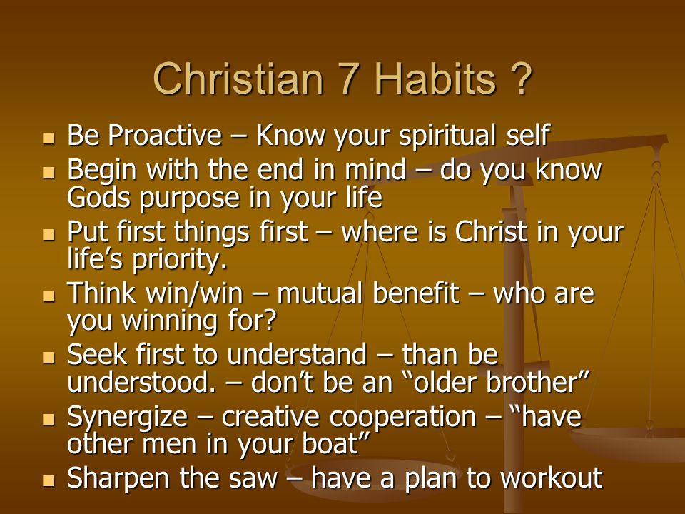 Christian 7 Habits .