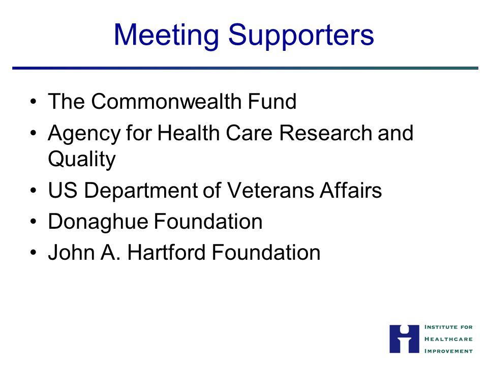 Targeted Conference Attendees Donors Payers Practitioners Researchers Policymakers Media Industry Patients and families