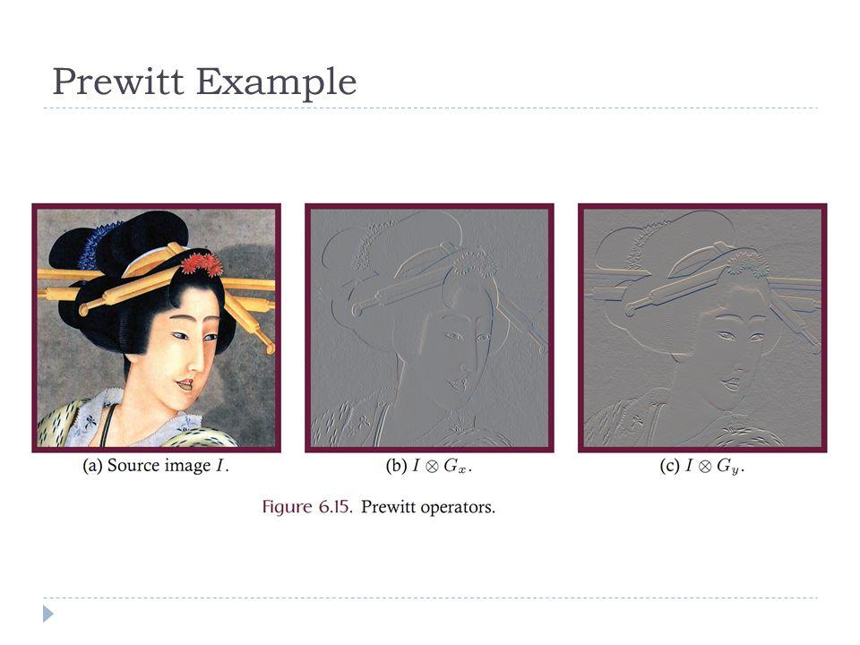 Prewitt Example