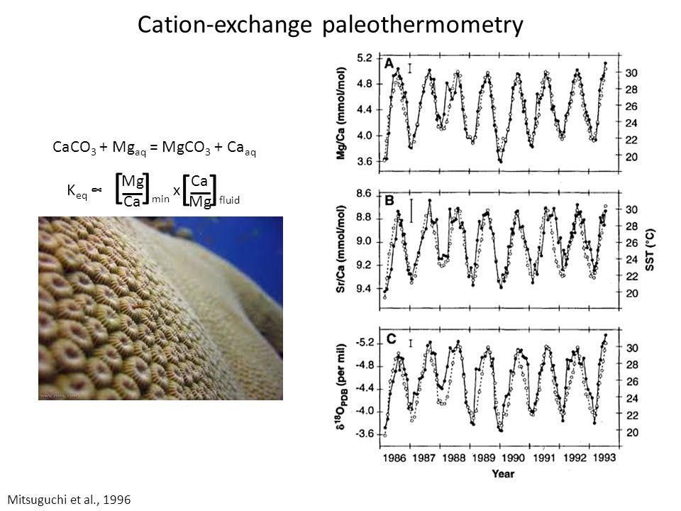 Stanley and Hardie, 1998; model of Hardie, 1996 Global budgets Weathering Hydrothermal Sediments Alteration