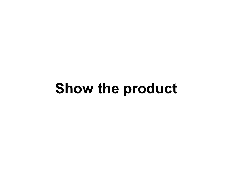Show the product