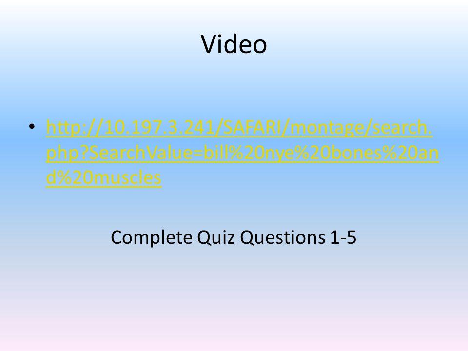 Video http://10.197.3.241/SAFARI/montage/search.
