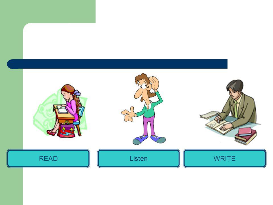 WRITEREADListen