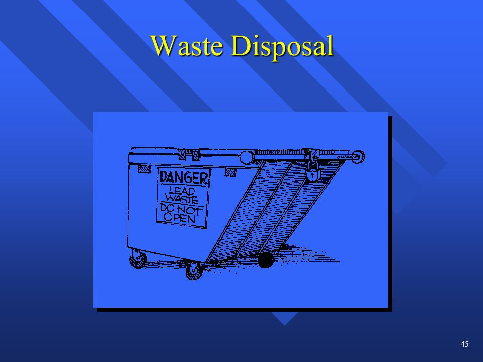 Waste Disposal 45