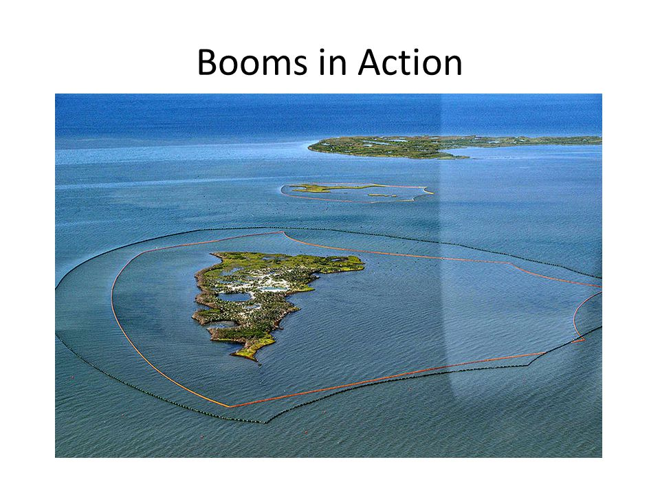Booms in Action