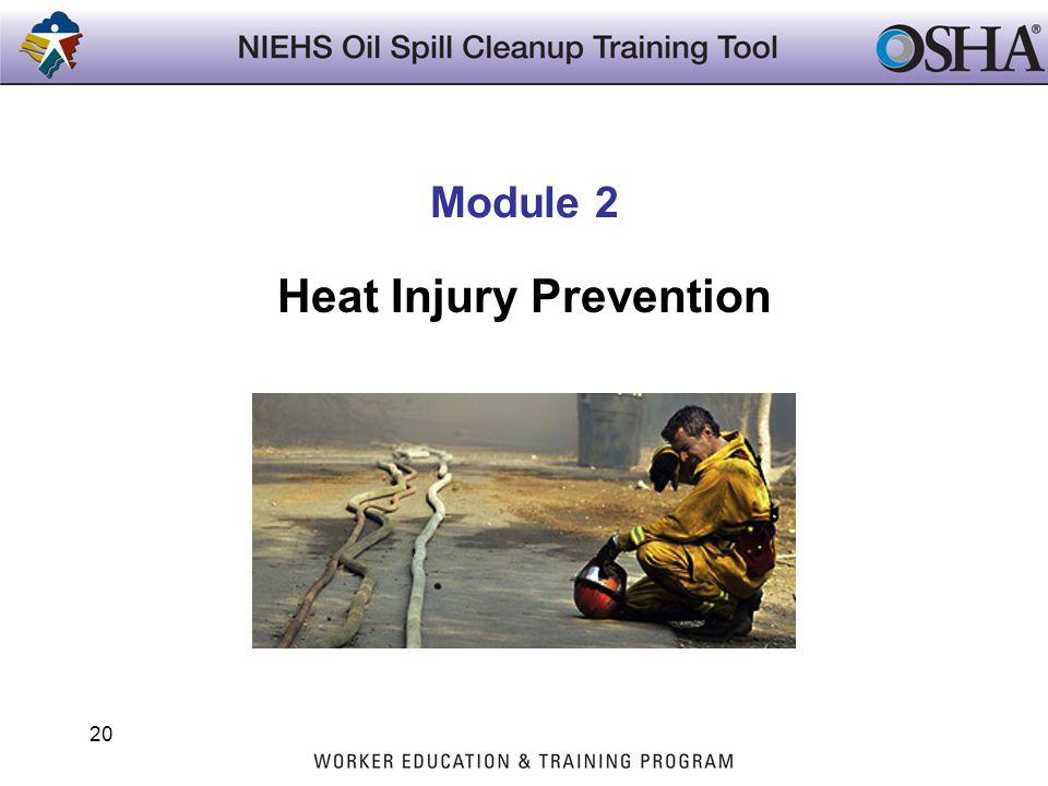 20 Module 2 Heat Injury Prevention