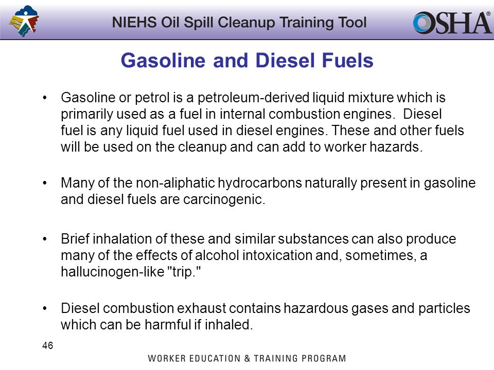 Gasoline and Diesel Fuels Gasoline or petrol is a petroleum-derived liquid mixture which is primarily used as a fuel in internal combustion engines. D