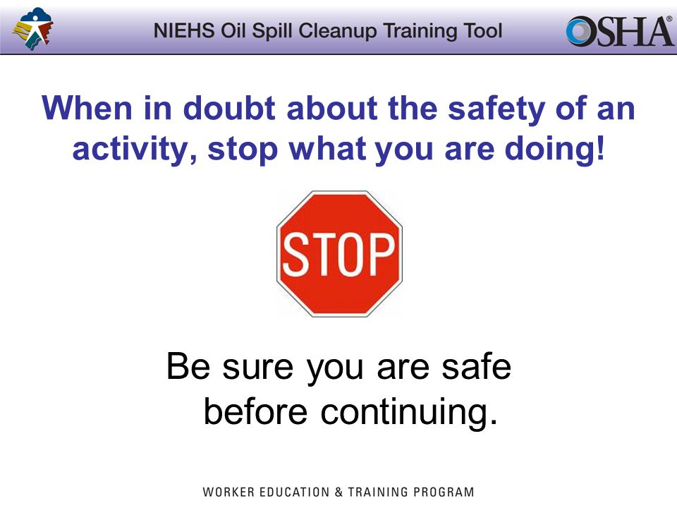 Noise Exposure Use hearing protection whenever noisy equipment is used.