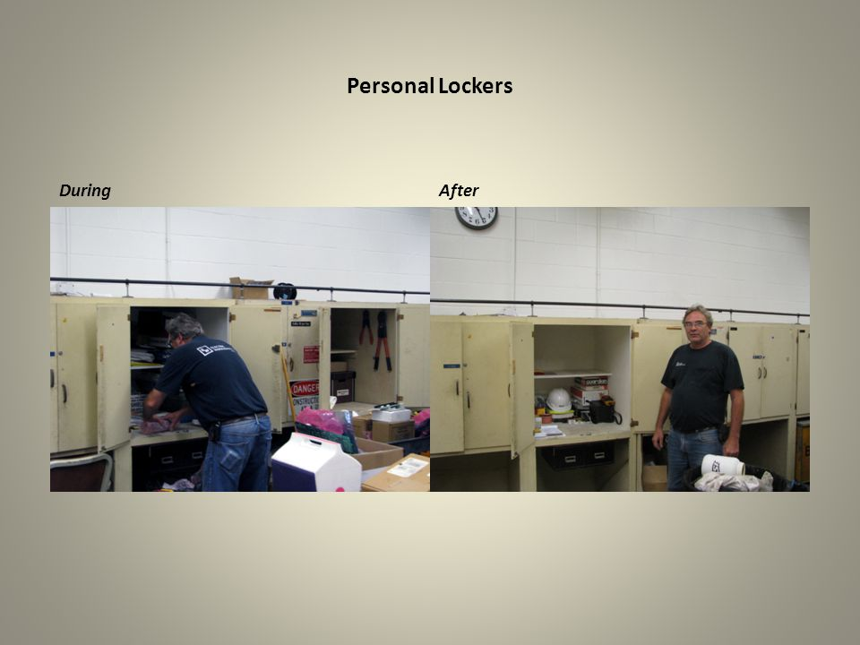 Personal Lockers During After