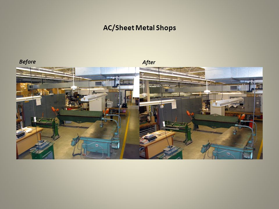 AC/Sheet Metal Shops Before After