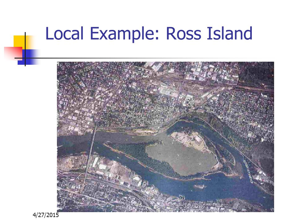 4/27/2015 Wyckoff/Eagle Harbor Bainbridge Island, in Central Puget Sound 3,780-acre site Land use in the area is predominantly residential, with some commercial and industrial uses The harbor supports several fish resources, a wide variety of resident and migratory birds, and other wildlife